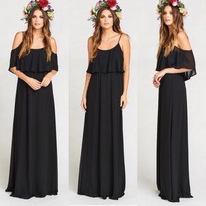 Caitlin Ruffle Maxi Dress